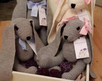 Merino Cotton Toy Bunny