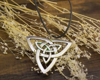 Triskel Celtic necklace pendant nature elven nature jewelry