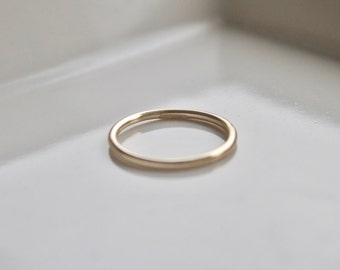 Solid yellow gold ring, 9ct wedding band, hallmarked ring, solid gold, wedding, gift for her