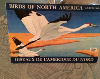Birds of North America Brooke Bond tea card Album