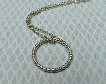 Silver ring pendant