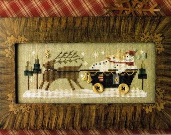 Delivering Winter ~ Cross Stitch Pattern