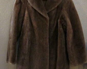 Revillon vintage women's nutria fur coat