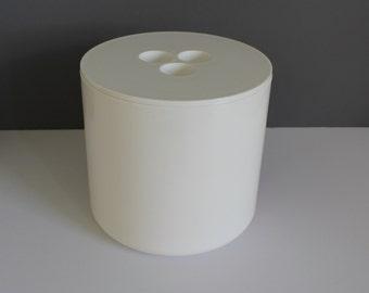 Mid-Century Modern Conran Input Line White Crayonne Ice Bucket