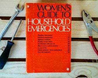 Vintage 1973 Readers Digest Book - Women's Guide To Household Emergencies
