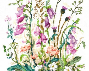 NEW UNOPENED Counted Cross Stitch KIT Wonderful Needle 81-03 The soft grass