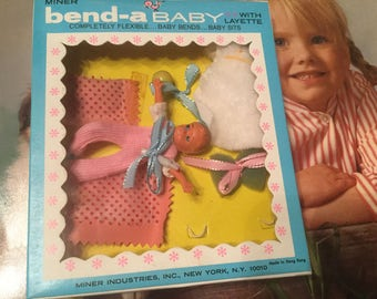 Vintage Bend-a-Baby Toy Doll