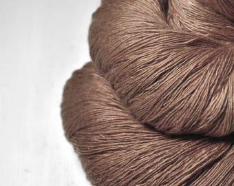 Vicious weasel OOAK - Merino/Cashmere Fine Lace Yarn