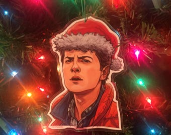 Marty McFly BACK to the FUTURE Christmas ORNAMENT!