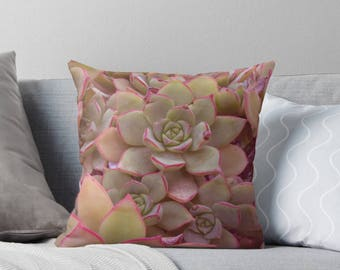 Succulent decorative pillow plant cushion cactus outdoors home decor