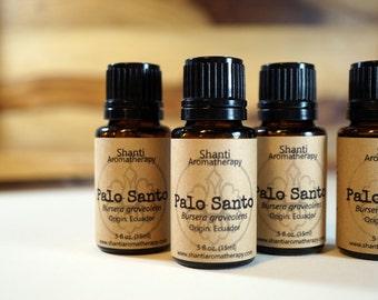 Palo Santo Essential Oil - Wildcrafted - Bursera graveolens