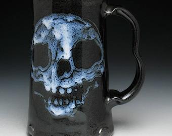 Ghost Skulls Beer Mug