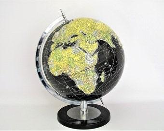 Vintage World Globe - Rand McNally - Scarce