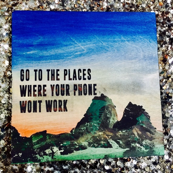 Go To The Places...