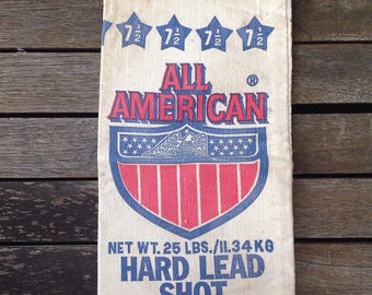 """FLASH SALE! 25% off when you enter """"25FLASH"""" - All American Canvas Shot Bag"""