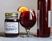 Red Wine Sangria Mix - Best Hostess Gift - Sangria Mix - Employee Gift- Lemonade - Bridesmaid Gift Baskets - Pikes Peak Lemonade - Colorado
