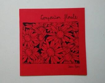 Floral composition // ZINE
