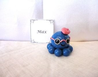 Clay Octopus- Max the Polymer Clay Octo Buddy