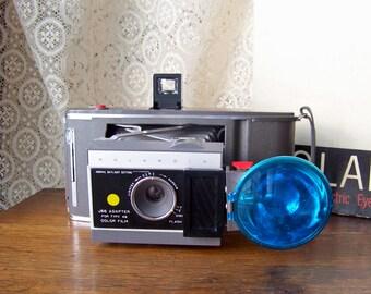 Vintage Polaroid Land Camera Electric Eye Kodak Photographer Camera Display Vintage 1960s