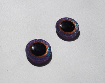 Hand Painted Blythe Eyechips - Nebula