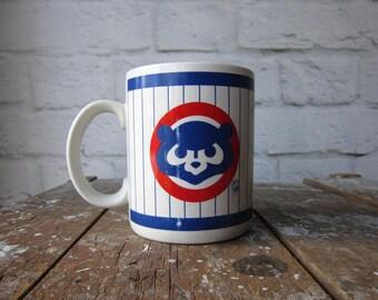 Retro Cubs Mug - Chicago Cubs Vintage Mug