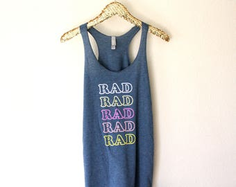 Rad Shirt, Tank For Mom, TShirt Gift For Her, Tee Shirts Women, Tank Tops With Sayings, Workout Tanks For Women, Mom Gifts, Fun Gift For Her