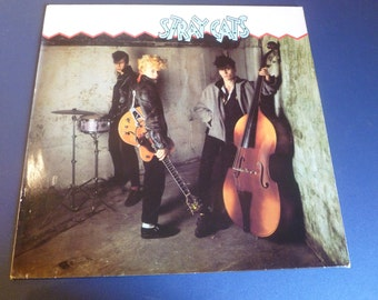 Stray Cats Vinyl Record STRAY 1 Arista Records 1980