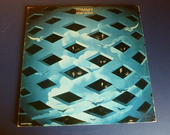 Tommy The Who Vinyl Record DXSW 7205 with Booklet Double Album Decca Records