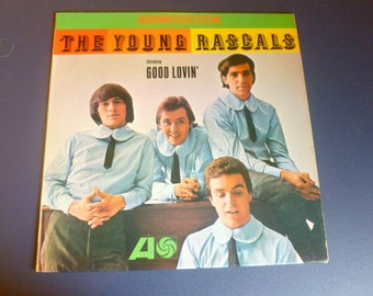 The Young Rascals Vinyl Record LP SD 8123 Atlantic Records Stereo 1966