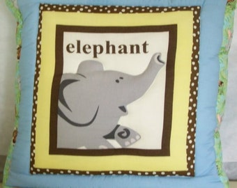 QUILLOW with a HAPPY ELEPHANT