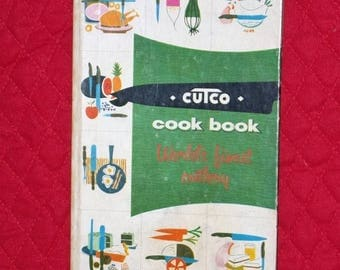 ETSYONSALE Cutco cook book cutlery Wearever hardback cookbook 1961 meats poultry vintage retro