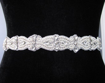 Weddings, Accessories, Belts & Sashes, rhinestone sash, bridal sash wedding sash ribbon sash crystal sash bridal belt sash rhinestone bridal