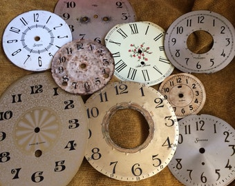 Seriously You Can Never Have Too Many Antique Clock Faces