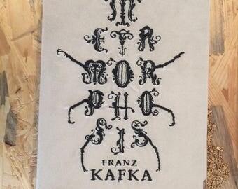 Book-clutch Franz Kafka Metamorphosis