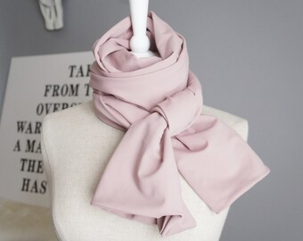 Long Light Pink Scarf - Light Pink Scarf - Light Pink Ballerina Scarf - Urban Scarf - Long Pink Oversized Scarf - Light Pink Dance Wear