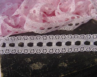 Pink Lace - For Lingerie, Dolls clothing's, Costume Design, Scrapbooking, Sewing,Embellishing