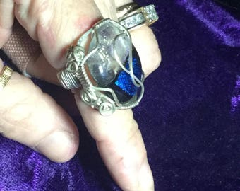 Sterling silver Cabochon ring