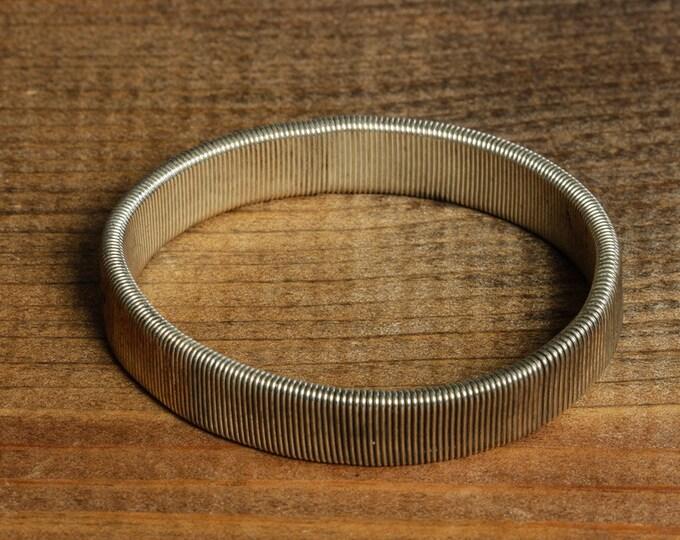 Metal Stretch Vintage Bracelet Silver Stretchy Costume Jewelry 16S
