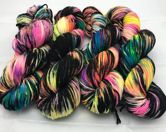 Trevor Morgan DK, Hand Dyed Yarn, DK weight, Superwash Merino, Number 3, 8 ply, Hand dyed, Light Worsted, 100g, Prism