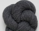Heather Charcoal Recycled Cashmere Lace Weight Yarn, CSH00257