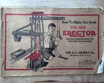 Erector How to Make 'Em book 1938