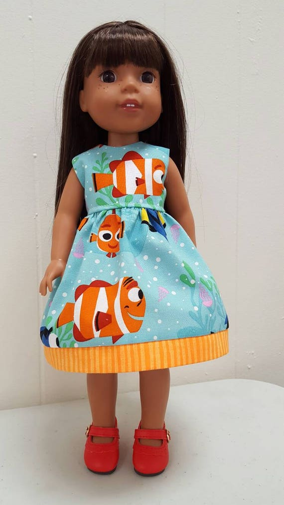 Nemo / Dory Dress Wellie Wisher Dress