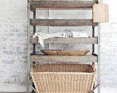 Vintage Shoe Factory Cart