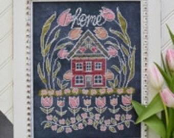 Tulip House Nashville Market 2017 Hands on Design cross stitch pattern