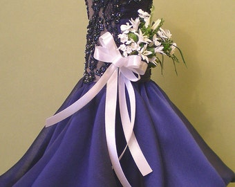 Replica Miniature Pageant Gown--Commissioned Art Deposit