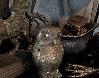 Vintage Owl Incense Burner at Gothic Rose Antiques
