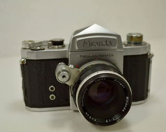 Vintage Miranda Camera manufactured by the Miranda Camera Company