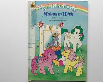 1986 My Little Pony Hardcover Book