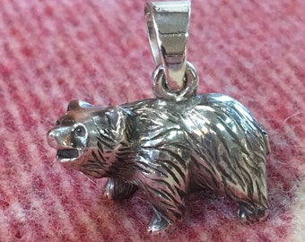 Grizzly Bear Brown Bear Pendant