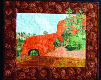 Red Canyon Quilt PDF Pattern